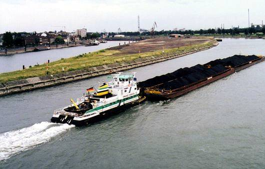Want more efficient way of moving cargo? Think waterways.